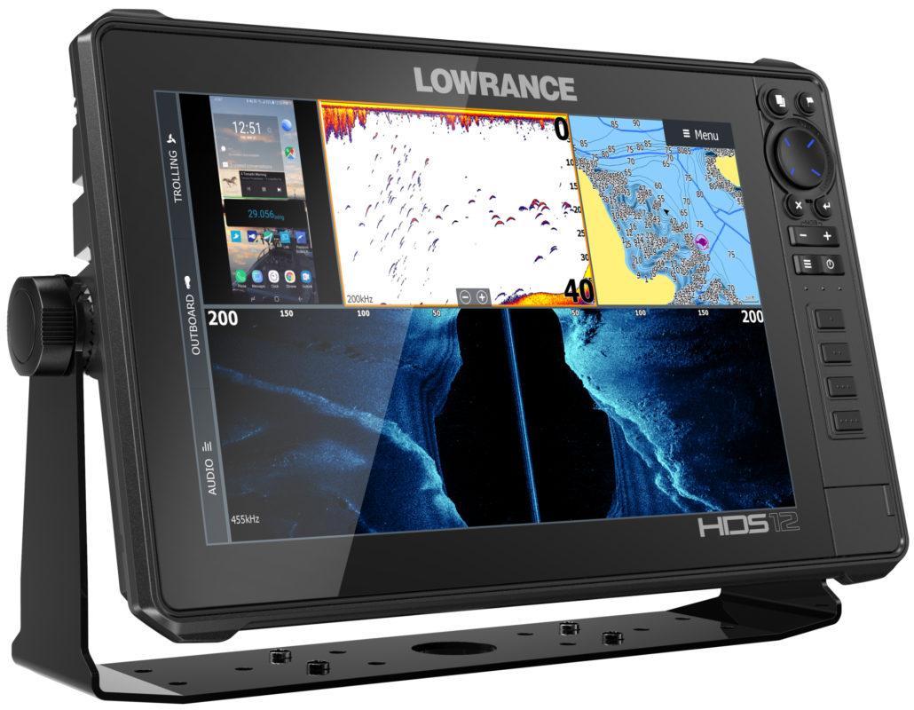 Обзор Lowrance HDS-12 Live
