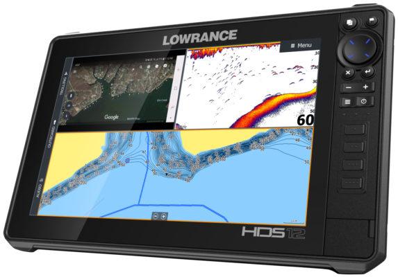 Lowrance HDS 12 Live карты