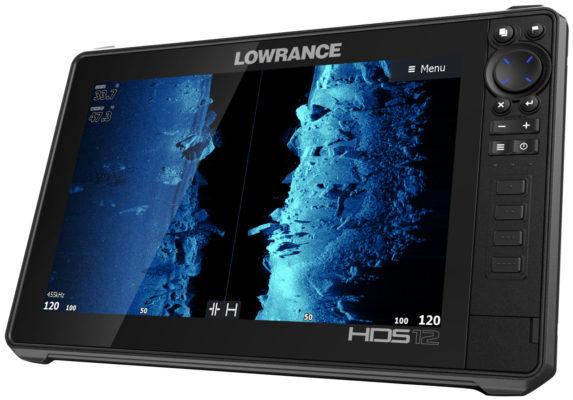 Lowrance HDS 12 Live боковое сканирование