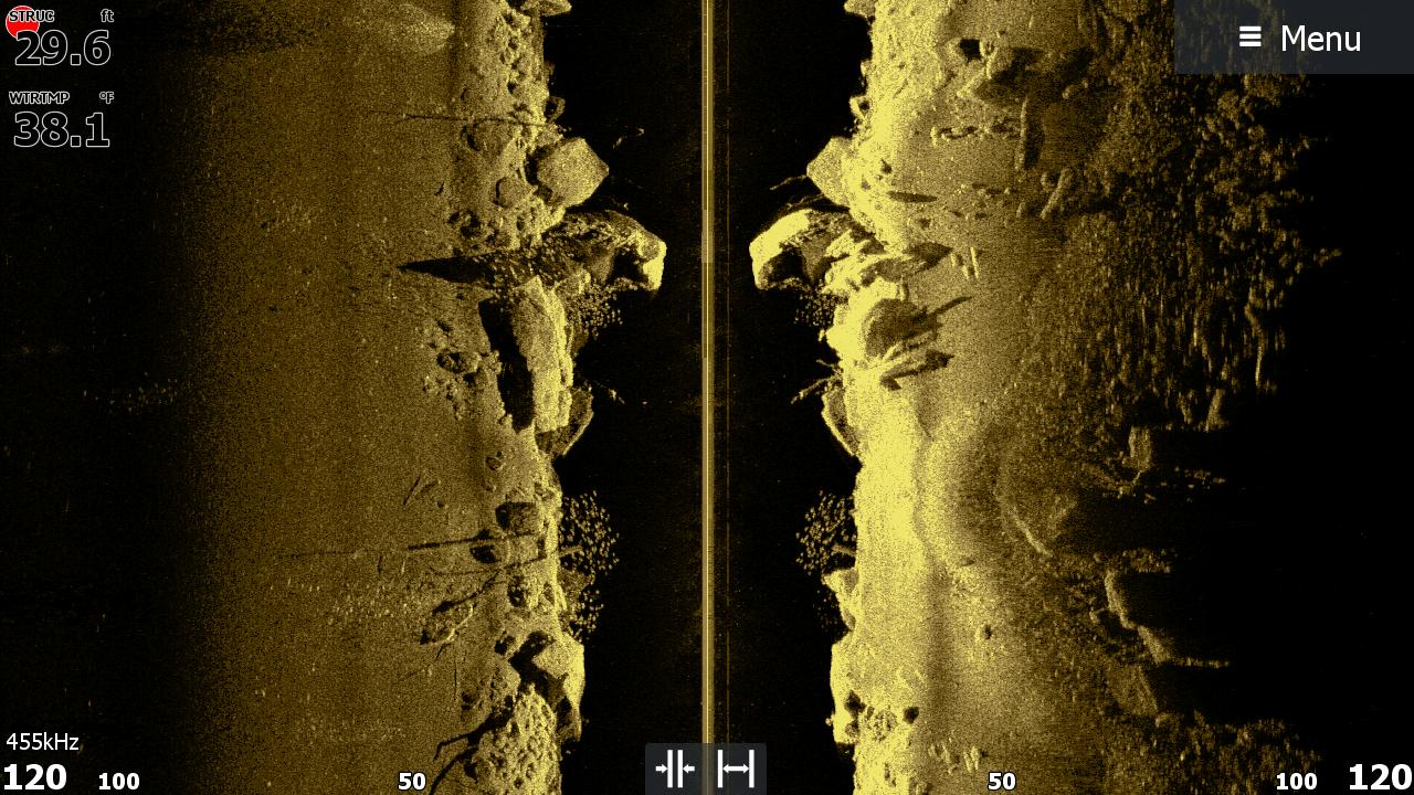 Боковое сканирование