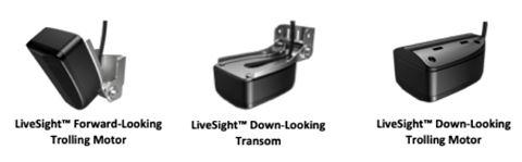 Виды установки датчика LiveSight