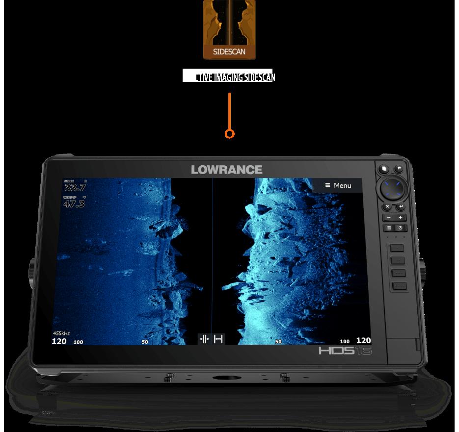 Боковое сканирование с Active Imaging
