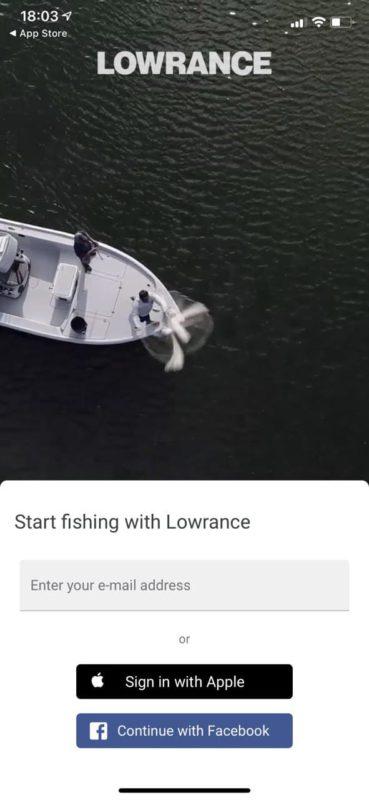 Регистрация lowrance